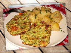 #recepty #cuketa #syr #placky Cuketové placky pečené v rúre. Zucchini, Vegetables, Food, Meal, Essen, Vegetable Recipes, Hoods, Meals, Eten