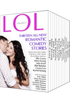 Coming Soon: LOL Volume 1 - Anthology of Brand-new Romantic Comedy Stories from Bestselling Authors  Available for the first time ever, at all ebook retailers this August 18, 2014  If you love romance books with humor, you won't want to miss this!  All NEW stories from your favorite romance authors, featuring some characters you already know and love, plus new adventures.