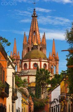 San Miguel de Allende. Mexico