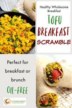 This vegan tofu breakfast scramble is a perfect hearty recipe for breakfast or brunch that will keep you full for hours. Whether served with grits and toast or in a wrap for a breakfast burrito, the whole family will be happy. #tofuscrambe #veganbreakfastscramble #veganbreakfast #plantbasedbreakfastrecipe #nooil Beef Recipes, Real Food Recipes, Vegan Recipes, Cooking Recipes, Best Breakfast Recipes, Quick And Easy Breakfast, Scrambled Tofu Recipe, Hearty Recipe, Tofu Breakfast