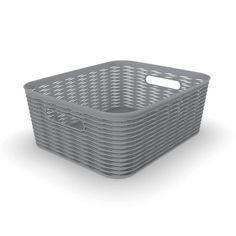 Read reviews and buy 11L Medium Wave Design Rectangle Basket - Room Essentials™ at Target. Choose from contactless Same Day Delivery, Drive Up and more. Shoe Storage Bins, Closet Storage Systems, Wire Basket Storage, Wire Storage, Pantry Storage, Plastic Storage, Kitchen Storage, Medium Waves, Grey Room