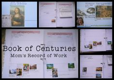 Book of Centuries template/explanation - charlotte mason