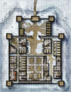 New Map Pack - the Stockade This week sees the release of a new set of map packs with Illusionary Press. Today - the Stockade. The wooden palisades coul. The Stockade Fantasy City Map, Pathfinder Maps, Building Map, Rpg Map, Dungeon Maps, Dungeons And Dragons Homebrew, City Maps, Medieval Fantasy, Map Art