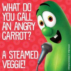 Angry carrot...