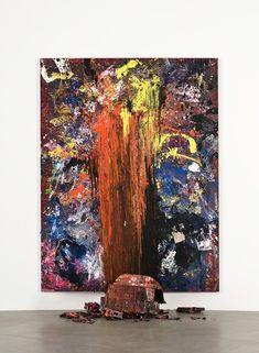 Dan Colen, Hand of Fate, 2011, Gagosian Gallery