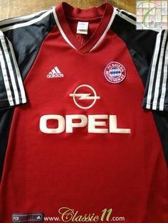 2001 02 Bayern Munich Home Classic Football Shirt   Soccer Jersey  dbac84a1e77a3