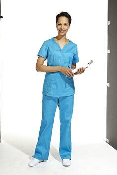 Solid Scrubs top and bottom / Haut et pantalon unis  #scrubs #uniforms