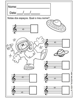 Pedagogia Musical volume 2 - ABC MUSICAL KID'S Elementary Music Lessons, Piano Lessons, Music Education Activities, Music Theory Worksheets, Preschool Music, Recorder Music, Music School, Piano Teaching, Music For Kids