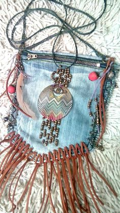 My first handmade bag in bohemian style. Boho, bohemian, gipsy, hippie, bags, handmade, craft - Are You A Boho-Chic? Check out our groovy Bohemian Fashion collection! Our items go viral all over the internet. Hurry - The latest in Bohemian Fashion! These literally go viral!