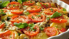 Kuřecí stehna pečená na bramborách a žampionech – U Miládky v kuchyni Thai Red Curry, Quiche, Vegetables, Breakfast, Hub, Ethnic Recipes, Food, Morning Coffee, Essen