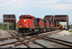 RailPictures.Net Photo: CN 2500 Canadian National Railway GE C44-9WL (Dash 9-44CWL) at Blue Island, Illinois by Mike Stupar
