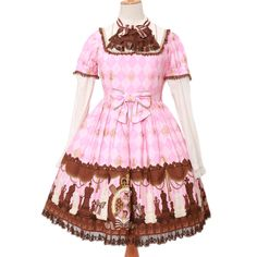 http://www.wunderwelt.jp/products/detail3479.html ☆ ·.. · ° ☆ ·.. · ° ☆ ·.. · ° ☆ ·.. · ° ☆ ·.. · ° ☆ Chess chocolate dress Angelic pretty ☆ ·.. · ° ☆ How to order ☆ ·.. · ° ☆   http://www.wunderwelt.jp/blog/5022 ☆ ·.. · ☆ Japanese Vintage Lolita clothing shop Wunderwelt ☆ ·.. · ☆ #egl