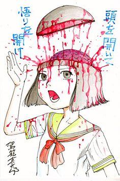 Kago Shintaro - 駕篭真太郎 「女の子の頭の中はお菓子がいっぱい詰まっています」 - 頭を開いて 悟りを開け