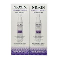 Nioxin Intensive Therapy Hair Booster 100 Ml/ 3.38 Fl. Oz. For Thin-looking Hair(pack of 2) * Learn more by visiting the image link.