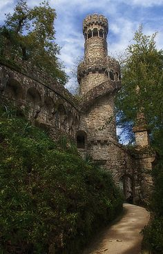 Quinta da Regaleira, Sintra, Portugal on imgfave Sintra Portugal, Spain And Portugal, Portugal Travel, Beautiful Buildings, Beautiful Places, Places To Travel, Places To See, Places Around The World, Around The Worlds