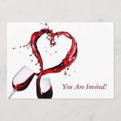 Carton Invitation, Invitation Cards, Party Invitations, Custom Invitations, Wedding Wine Glasses, Red Wine Glasses, Wine Club Membership, Pinot Noir Wine, Wine News