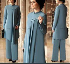 Muslim Dress, Hijab Dress, Islamic Fashion, Muslim Fashion, Abaya Fashion, Fashion Dresses, Hijab Style Tutorial, Modele Hijab, Hijab Collection