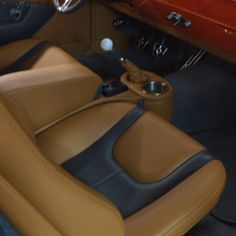 video clip of Short Walk Around! chevelle custom interior console door panels. blend these into your fesler panel. rivets billet leather. camel brown grey and red. sweet interiors by shannon Shiva Linga, Door Panels, Car Upholstery, Car Interiors, Center Console, Video Clip, Brown And Grey, Camel, Peanut Butter