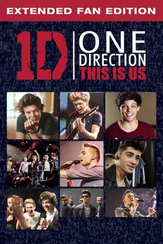 One Direction: This Is Us (Extended Fan Edition) Movie Poster - Niall Horan, Liam Payne, Zayn Malik  #OneDirection, #ThisIsUs, #ExtendedFanEdition, #MoviePoster, #Documentary, #MorganSpurlock, #LiamPayne, #NiallHoran, #Poster, #ZaynMalik