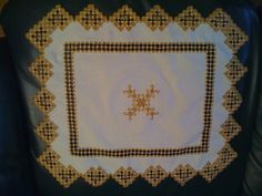Set de table en Hardanger