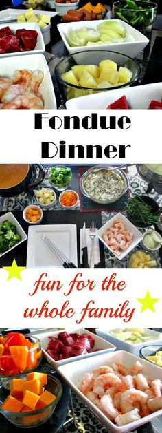 Fondue - Fun For The Whole Family! (Vegetarian & Gluten Free Options Fondue is fun for the entire family. Make it gluten free and vegetarian. And enjoy the time spent together. Fondue Recipes, Appetizer Recipes, Cooking Recipes, Healthy Recipes, Fondue Ideas, Appetizers, Dinner Recipes, Dinner Ideas, Crockpot Fondue