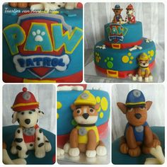 #taart #dogs #birthday #pawpatrol