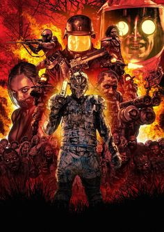 The Australian production Wyrmwood is one of those movies that pleasantly surprised by the freshness and audacity of those who boasts, successfully combining several genres of apocalyptic movies. It defines itself as a road movie of zombies in the extreme, which pays heartfelt tribute to the beloved mad doctors always. All under an aesthetic to the Mad Max of the most bizarre.