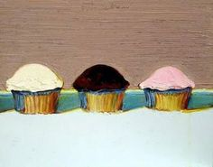 wayne-thiebaud_cupcakes  A sweet activity for little artists at Stockley Gardens Art Festival