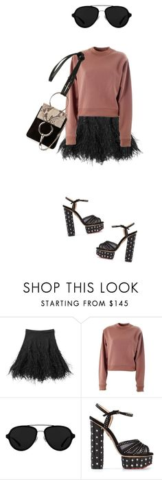 """""""Untitled #2425"""" by misnik ❤ liked on Polyvore featuring Michael Kors, Acne Studios, 3.1 Phillip Lim, Charlotte Olympia and Chloé"""