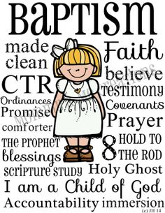 I like this for a baptism but use child's picture instead of cartoon