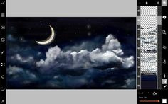 How to Draw a Night Sky