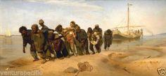 Volga-Boatmen-Ilya-Efimovich-Repin-circa-1830-Fine-Art-Giclee-Print