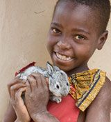 World Vision...I just bought a rabbit for a family in need! Check this organization out, everyone can help make a difference!