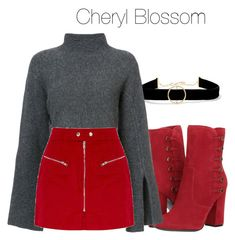 A fashion look from December 2017 featuring 10 Crosby Derek Lam sweaters and Anissa Kermiche necklaces. Browse and shop related looks. Clueless Outfits, Teen Fashion Outfits, Cool Outfits, Casual Outfits, Cheryl Blossom Riverdale, Riverdale Fashion, Movie Inspired Outfits, Teenager Outfits, Polyvore Outfits