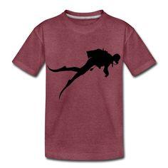 Ocean Lovers | Taucher Scuba Diver Geräte Taucher - Teenager Premium T-Shirt Teenager, Baby Kind, Kind Mode, Babys, Mens Tops, Fashion, Scubas, Ocean, Babies