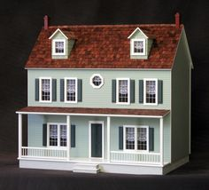 I want the dollhouse that I never had when I was a little girl.  For my little girl and me.