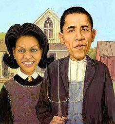 "Barack Obama Gothic by Frank Harris: www.frankharris.com – FuTurXTV & Funk Gumbo Radio: http://www.live365.com/stations/sirhobson and ""Like"" us at: https://www.facebook.com/FUNKGUMBORADIO"