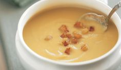 Parsnip Soup with Caramelized Apples - Bon Appétit
