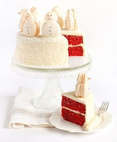 Snow perfect!! I see this cake in my future!