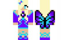 minecraft skin water-fairy Find it with our new Android Minecraft Skins App… Skins For Minecraft Pe, Minecraft Party, Minecraft Houses, Mc Skins, Water Fairy, Blue Fairy, Forest Fairy, Legos, Disney