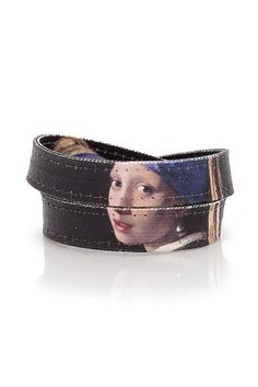"Johannes Vermeer  ""The Girl with a Pearl Earring"" Handmade Canvas Bracelet"