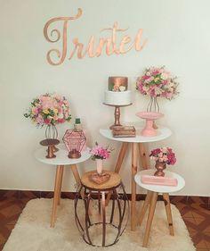 27th Birthday, Mother Birthday, Happy Birthday, Birthday Balloon Decorations, Wedding Decorations, Barbie Party, Ladies Party, Ideas Para, Mary