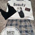 Day 21: Διαγωνισμός για σετ πιτζάμες, αθλητικό σουτιέν και αθλητικά καλτσάκια απο το L'amour L'amour