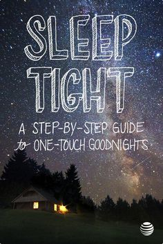 """Looking for a hassle free night? Create a one-touch """"good night"""" button with AT&T Digital Life. Using home automation helps you tuck in your home so you can rest easy."""