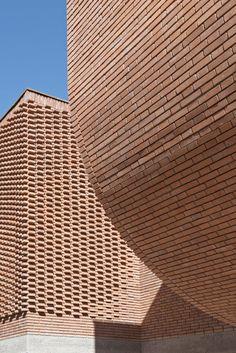 Studio KO completes textured brickwork Yves Saint Laurent Museum in Marrakech
