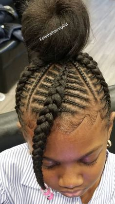106 Best Cornrows Kids Images In 2019 Little Girl