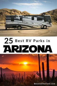 Here are 30 of the best RV parks in Arizona. No matter the size of your rig or your preferences, one of these RV parks or campgrounds will be a perfect fit! Travel Trailer Camping, Rv Travel, Roadtrip, Camping Life, Van Camping, Camping 101, Travel Nursing, Travel Tips, Arizona Road Trip