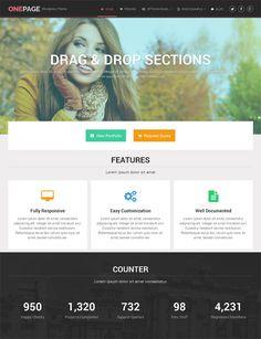 OnePage A New Business WordPress Theme Mythemeshop