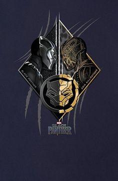 Black Panther || T'Challa,Erik Killmonger (Golden Jaguar)