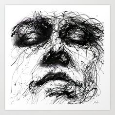 Waiting Art Print by agnes-cecile - $20.00 // Society 6